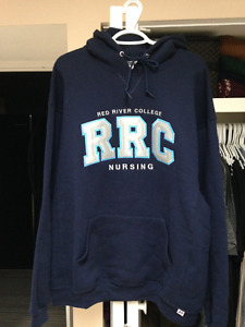 BRAND NEW WITH TAGS RED RIVER COLLEGE NURSING HOODIE