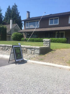 Gutter Scrubbing And Yard Clean Up! Cleaning W/O Chemicals North Shore Greater Vancouver Area image 3