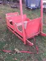 2 seater sleigh
