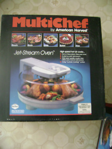 MulitChef by American Harvest Jet stream oven
