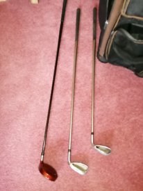 Taylor Made golf clubs