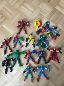 Figurines Marvel collection Smash