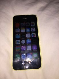 IPhone 5C (MG8Y2B/A: Yellow 8gb)