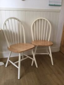 Kitchen/dining chairs x 2