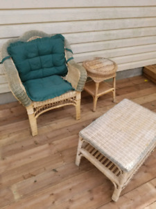 Wicker Set - Indoor/Outdoor