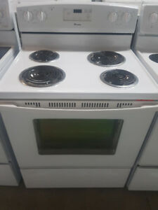 Stoves White - Coiled Elements - Stove - Durham Appliances