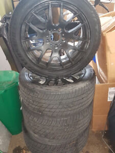 17' BMW Wheels and Tires