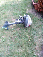 4 HP Evinrude outboard motor