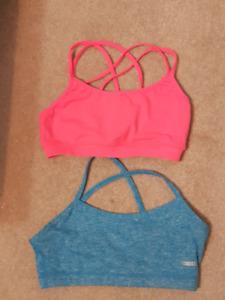 Ladies sz XS sports bras