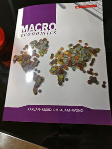 Macroeconomics - First Canadian Edition.