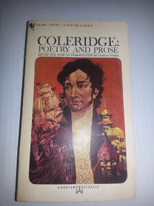 1965 - COLERIDGE: POETRY AND PROSE (Soft Cover)
