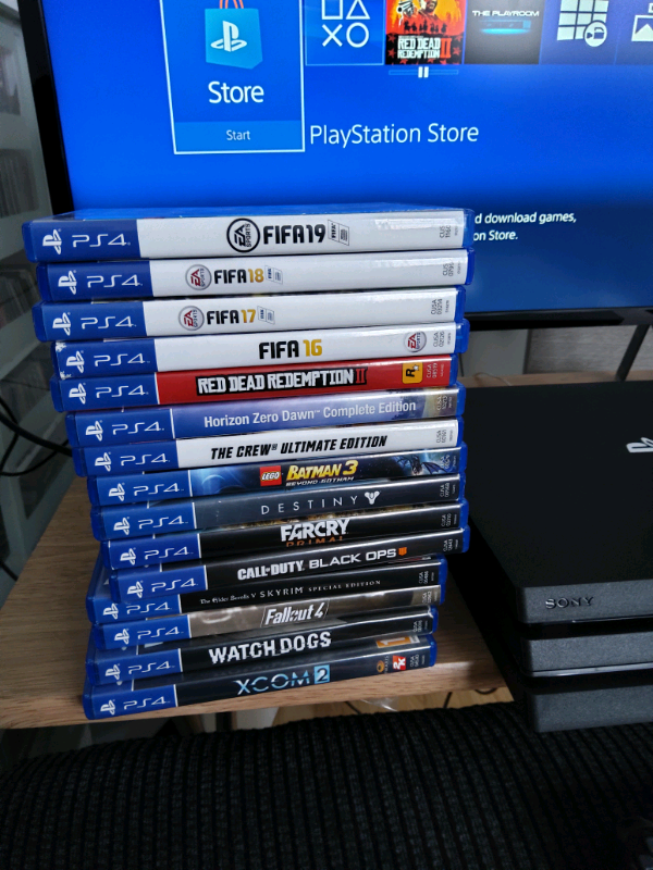 Ps4 pro 1 controller 15 games | in Ferryhill, County Durham | Gumtree
