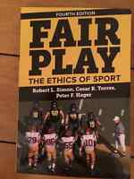 Fair Play the ethics of Sports Textbook for sale