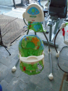 Very Good Fisher Price Rainforest Baby Swing For Sale !
