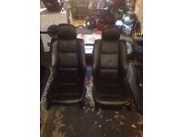 Bmw e46 coupe leather interior including door cards