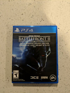 Star Wars Battlefront 2 - PS4 - Mint Condition