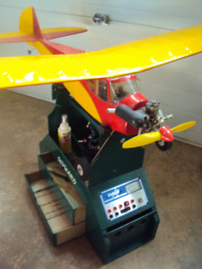 RC AIRPLANE with Field Box, Power Panel, etc.