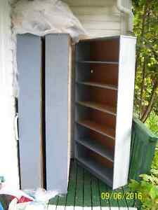 3 'Sears' pine book cases $250; or $90 each