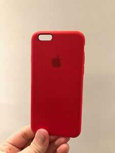 Red iPhone 6/6s Apple Silicone Case