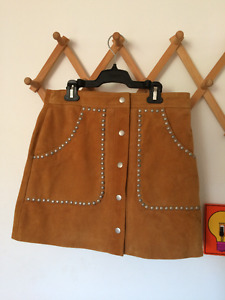 Nasty Gal Suede Studded Skirt- Never Worn- Great condition!!!