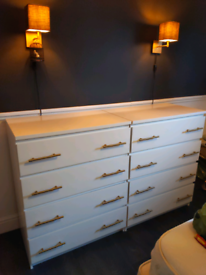 IKEA MALM chest of drawers X2