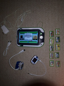 Leap Pad Ultra with 10 games and 2 Leap watches