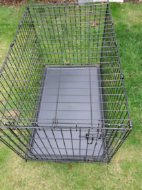 Dog Cage metal/plastic tray medium sized 20.00pounds