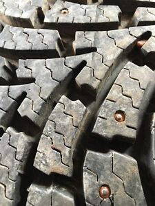 4 - Goodyear Nordic Winter Tires - Studded