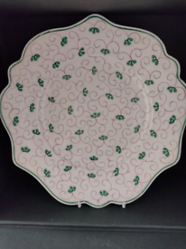 """Vintage Pr of Decorative 9"""" Plates mint condition! For use or display!"""