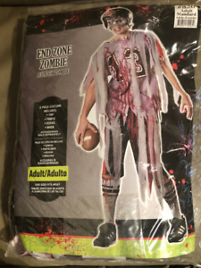 Men's Halloween Costume - End Zone Zombie (football player)