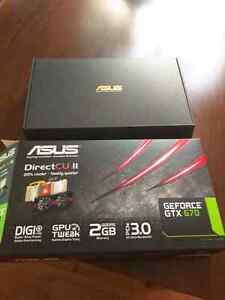 Asus GTX 670 graphics card