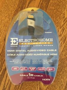 Electrohome HDMI Digital Audio/Video Cable