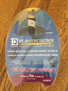 Electrohome HDMI Digital Audio/Video Cable