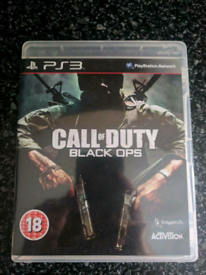 Call of duty black ops 1 / mint condition/ PS3 game