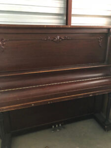 ATNIQUE Up-Right Piano and Bench Seat for SALE