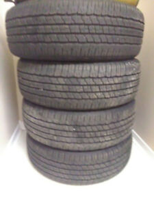 275/65/18 Goodyear fortitude ht BAIRLY USED