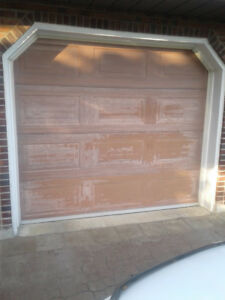 Porte door Garage GARAGA Acier Steel 8x7 with Track