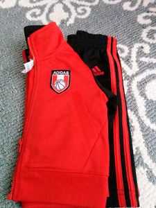 Adidas Track Suit is 3 months $12