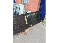 Old timber doors, free collection only!