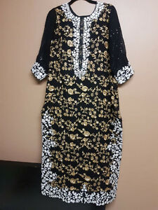Black & Gold Dress