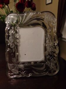 Etched Glass Picture Frame for 8 x 6 inch photo