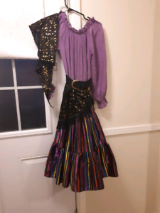 Childrens gypsy costume