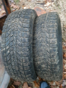 2- 195 65 15 Winter tires for sale