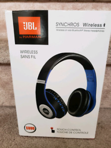 BRAND NEW JBL WIRELESS BLUETOOTH HEADPHONES FOR CALLS AND MUSIC