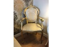 Lovley French style carver chair