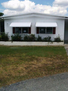 Double wide mobile home Florida
