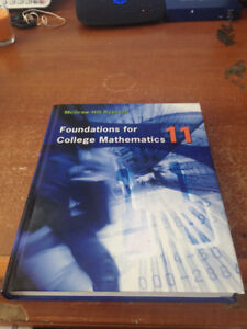 Foundations for College Mathematics Grade 11