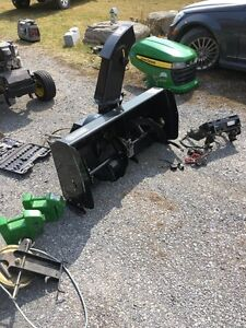 Snowblower attachment for your tractor