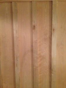 Planche de bois pour ébéniste