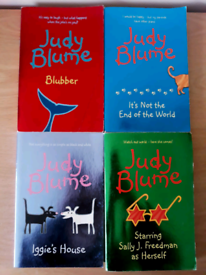 Judy Blume Books x 4